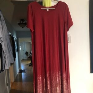 Elegant line - LuLaRoe Carly Dress